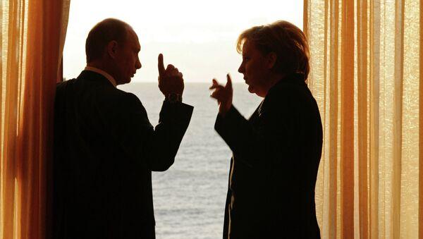 Встреча президента России и Канцлера Германии в Сочи. Архивное фото. - Sputnik Абхазия