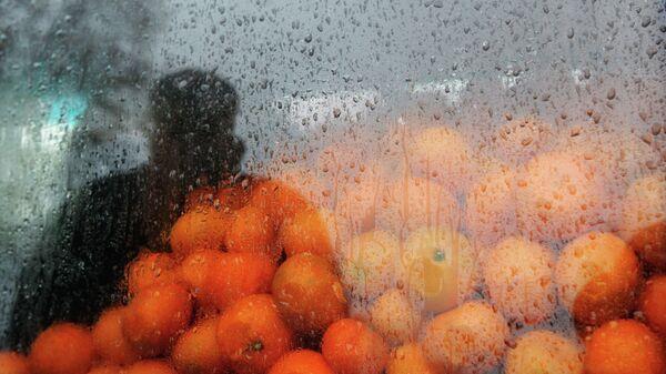 На оптовом рынке в Абхазии. Архивное фото. - Sputnik Абхазия