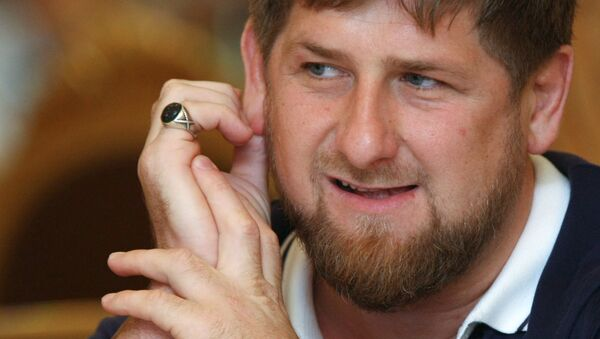 Глава Чечни Р.Кадыров. Архивное фото. - Sputnik Абхазия