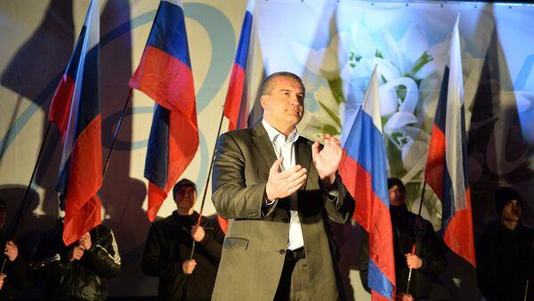 Глава Крыма Сергей Аксенов. - Sputnik Абхазия