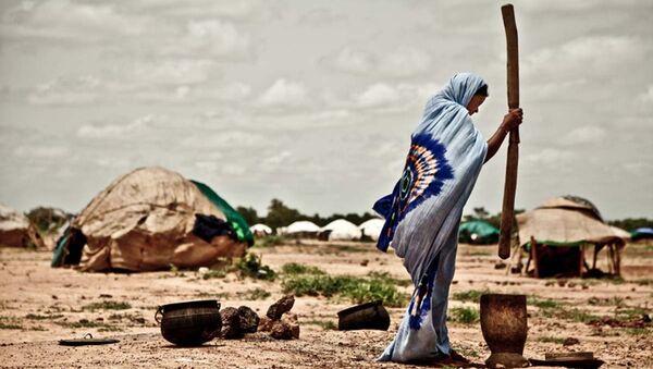 Лагерь Буркино-Фасо. Архивное фото. - Sputnik Абхазия