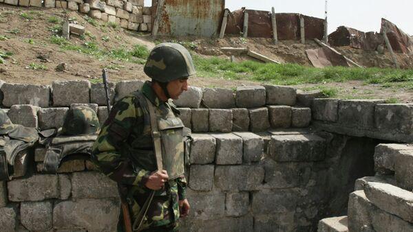 Армия Нагорного Карабаха. Архивное фото. - Sputnik Абхазия