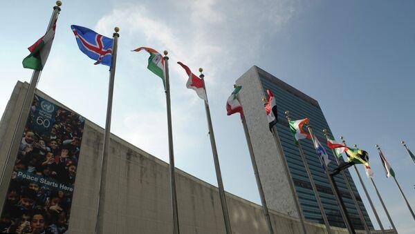 Здание ООН в Нью-Йорке - Sputnik Абхазия