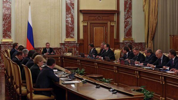 Д.Медведев провел заседание правительства РФ - Sputnik Абхазия