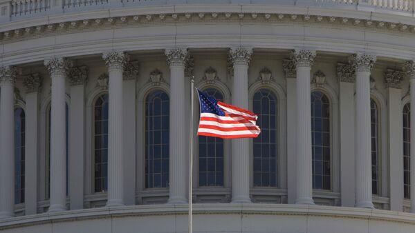 Фрагмент Капитолия - здание Конгресса США в Вашингтоне. Архивное фото. - Sputnik Абхазия