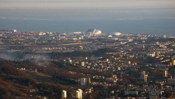 Вид на  г. Сочи - Sputnik Абхазия