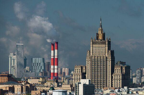 Здание МИД РФ - Sputnik Аҧсны