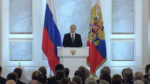 Послание Путина Федеральному собранию: Украина, санкции, рубль и налоги_СПУТНИК - Sputnik Абхазия