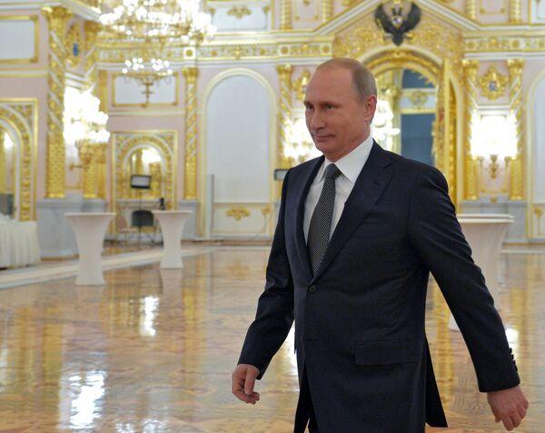 Президент РФ В.Путина. Архивное фото. - Sputnik Абхазия
