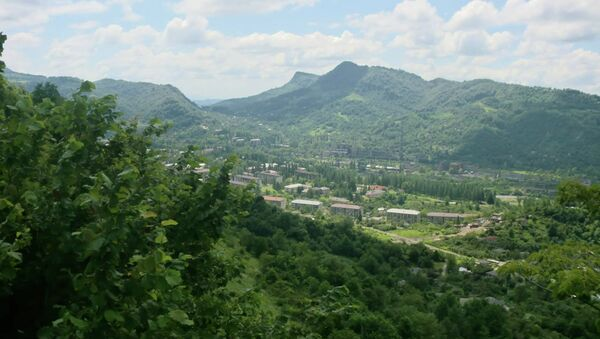 Вид на Ткуарчал. Архивное фото. - Sputnik Абхазия