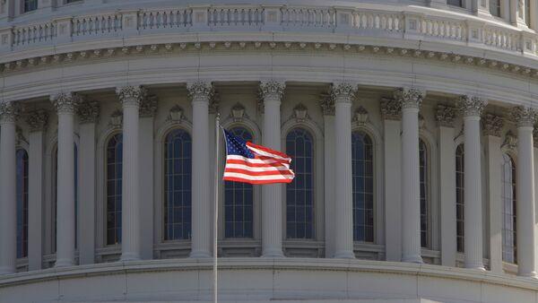 Фрагмент Капитолия Вашингтона - Sputnik Абхазия