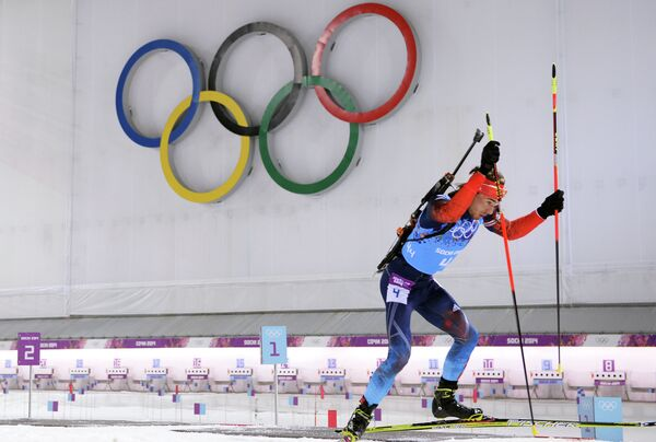 Олимпиада 2014. Биатлон. Мужчины. Эстафета - Sputnik Абхазия