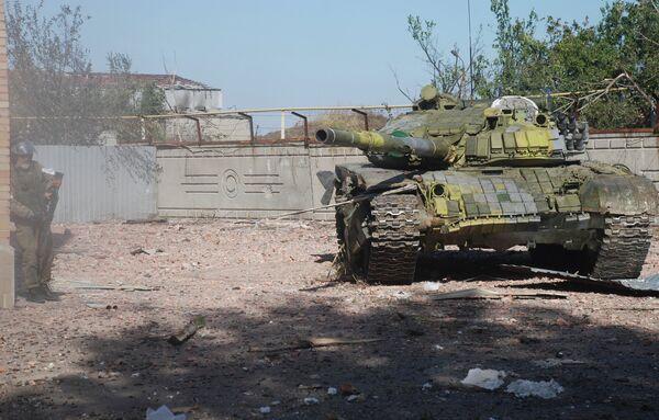 Бои в районе аэропорта города Донецка. Архивное фото - Sputnik Абхазия