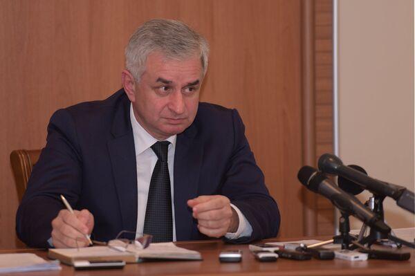 Президент Абхазии Рауль Хаджимба. Архивное фото - Sputnik Абхазия