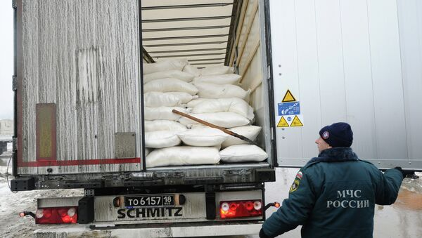Девятый российский гуманитарный конвой для Донбасса формируется в Ростовской области - Sputnik Абхазия