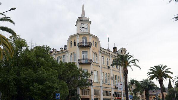Здание администрации г. Сухум. - Sputnik Аҧсны