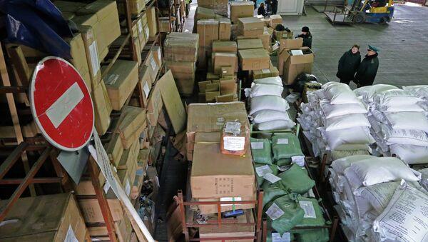 Задержание китайских товаров на таможне в Калининградской области. Архивное фото - Sputnik Абхазия