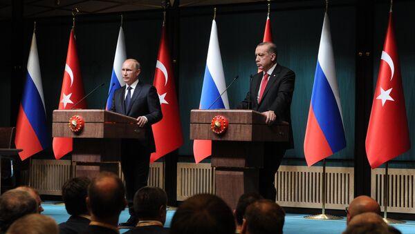 Рабочий визит В.Путина вТурцию - Sputnik Абхазия