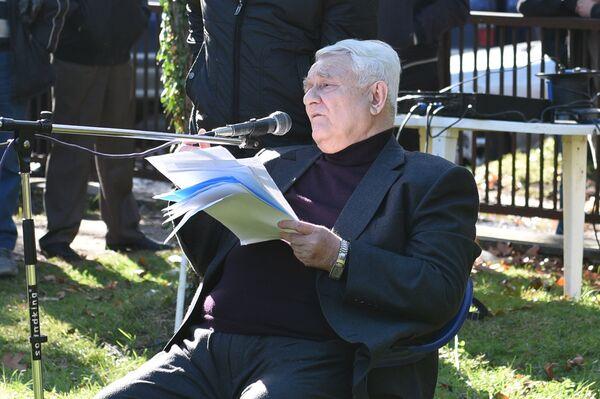 Анри Джергения. Архивное фото - Sputnik Абхазия