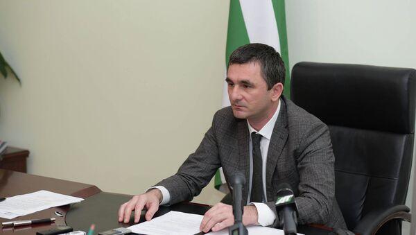 Министр ВД Абхазии Рауль Лолуа - Sputnik Абхазия