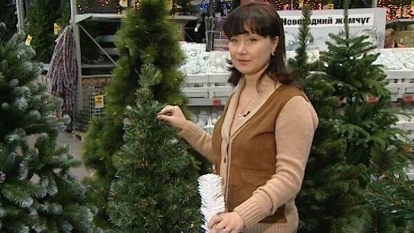 Как выбрать искусственную елку. Видеоинструкция - Sputnik Абхазия