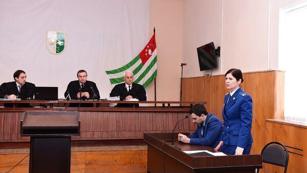 Заседание суда по делу о покушении на Анкваб А.З. - Sputnik Абхазия