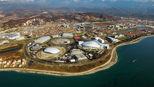Олимпийский Сочи с борта вертолета - Sputnik Абхазия