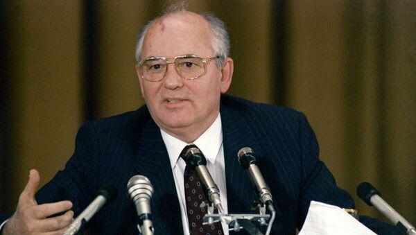 Михаил Горбачев. Архивное фото. - Sputnik Абхазия