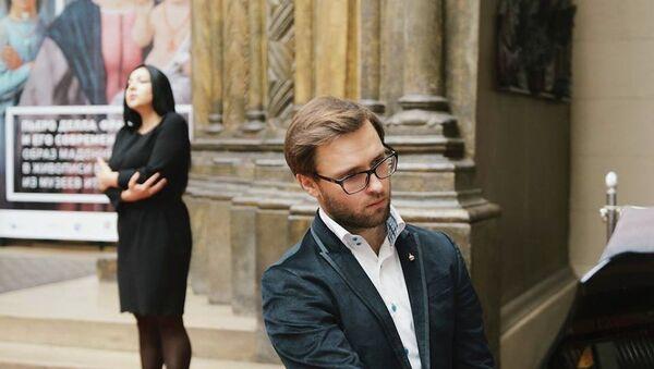 Выступление Луки Гаделия и Кристины Эшба. Архивное фото. - Sputnik Абхазия
