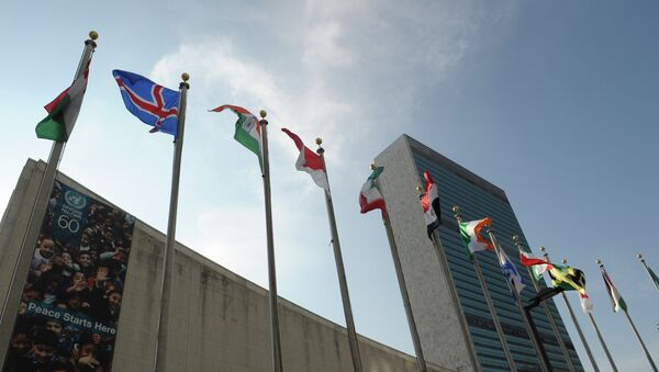 Здание ООН в Нью-Йорке. - Sputnik Абхазия
