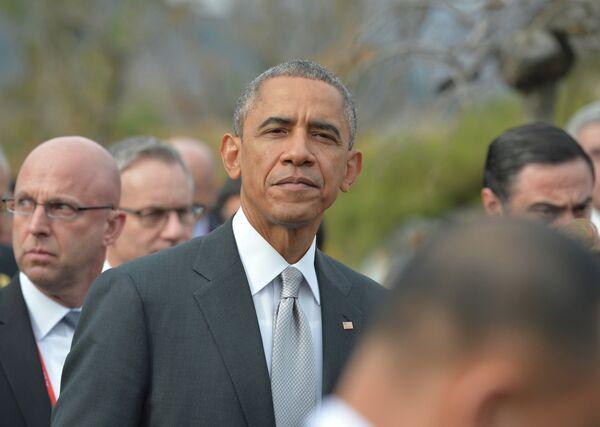 Президент США Барак Обама. Архивное фото. - Sputnik Абхазия