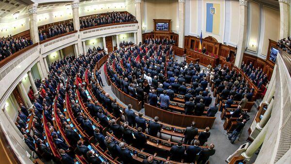 Первое заседание новоизбранной Верховной рады Украины - Sputnik Абхазия