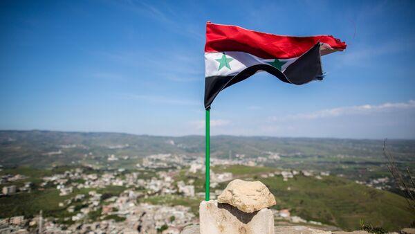 Освобожденная от боевиков крепость Крак де Шевалье в Сирии - Sputnik Абхазия