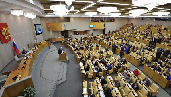 Последнее пленарное заседание Госдумы РФ в 2014 году - Sputnik Абхазия