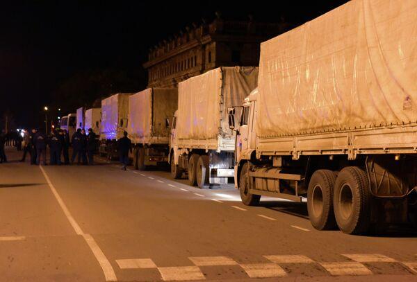Отправка гумпомощи на Донбасс - Sputnik Абхазия
