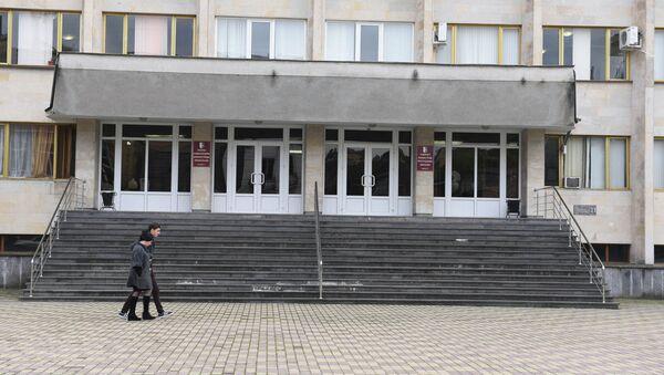 Здание кабинета министров - Sputnik Абхазия