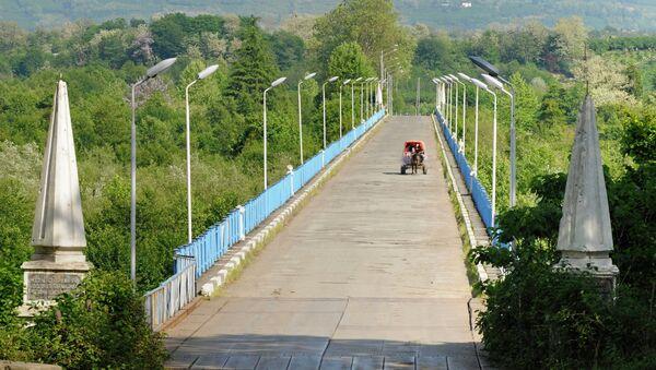 Пограничная застава на абхазско-грузинской границе в Гальском районе Абхазии. Архивное фото. - Sputnik Абхазия