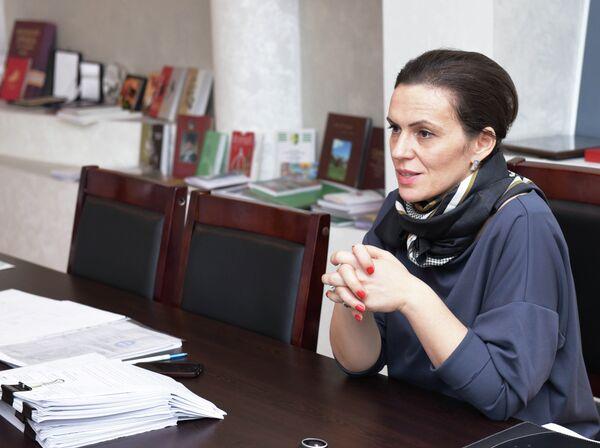 Министр культуры Эльвира Арсалия - Sputnik Абхазия