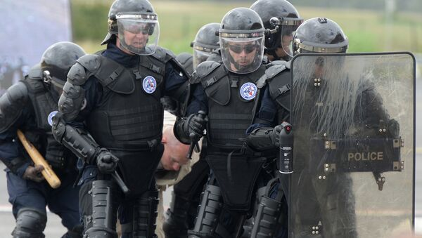 Сотрудники французской полиции. Архивное фото. - Sputnik Абхазия