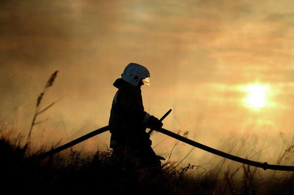 Пожарник. Архивное фото - Sputnik Абхазия