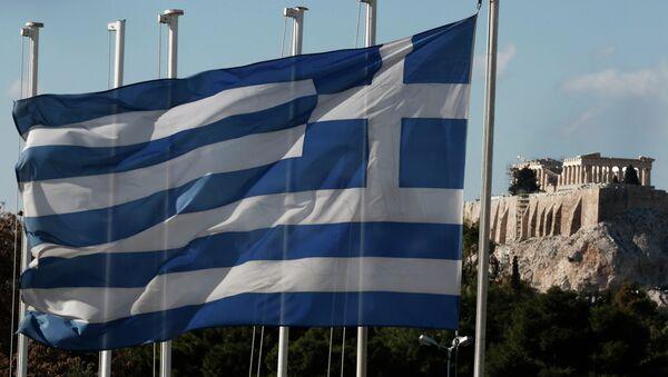 Флаг Греции - Sputnik Абхазия