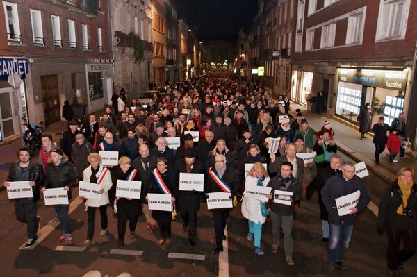 Акция протеста в Руане - Sputnik Абхазия