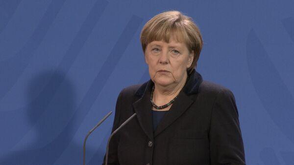 Ангела Меркель о политике НАТО в отношении РФ - Sputnik Абхазия