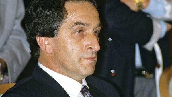 Председатель ВС Абхазии В.Ардзинба - Sputnik Абхазия