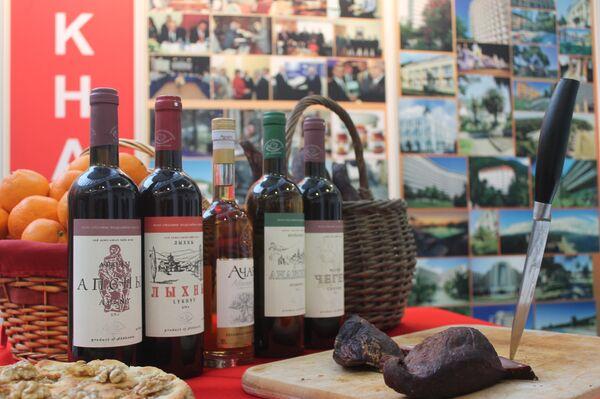 Абхазские вина на выставке в Берлине - Sputnik Абхазия