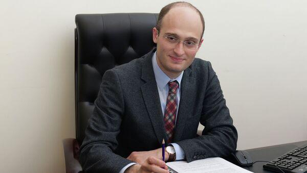 Начальник Экспертного управления администрации президента Абхазии Ираклий Хинтба. - Sputnik Абхазия