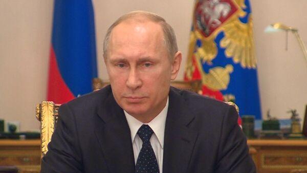 СПУТНИК_Ответственны те, кто отдает преступные приказы – Путин об обстрелах Донбасса - Sputnik Абхазия