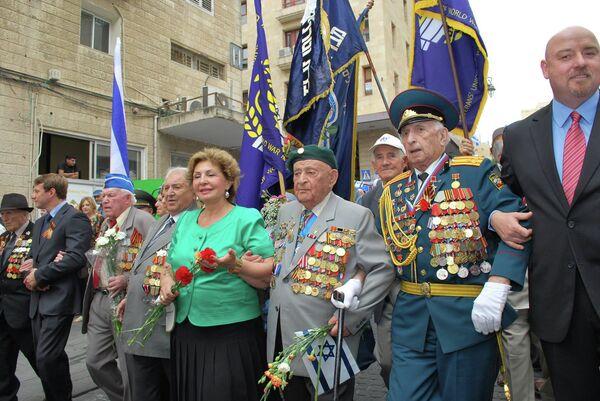 В Израиле наградили 47 человек медалями в честь 70-летия Победы.Архивное фото. - Sputnik Абхазия