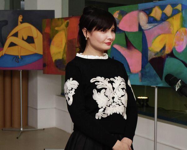 Выставка абхазских художников на курорте Роза Хутор - Sputnik Абхазия