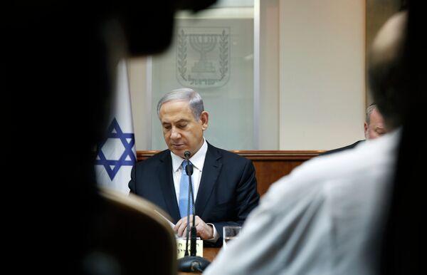 Израильский премьер Биньямин Нетаньяху - Sputnik Абхазия